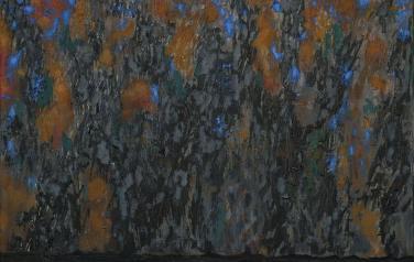 Состояние (Октябрь). Вторая часть диптиха. 2011. Холст, масло. 80х70.