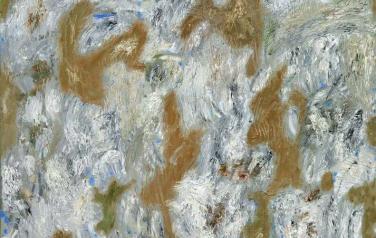 Иней на траве. Холст, масло. 2012. 100х80.