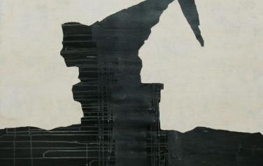 А. Чумак. Стратиграфия № 5. 2012. 105х105. Холст, акрил.