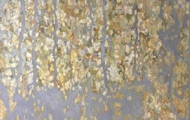 Березняк осенний, 130х140 см., холст, масло, 2016 г.
