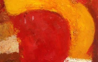 """Из серии """"Солнечный ветер"""", 50х50cm, 2010г."""
