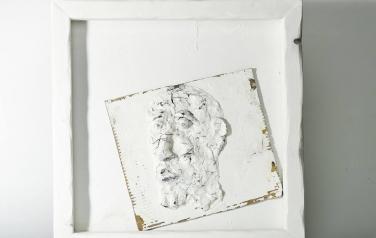 Poems in white№13 50х50 ассамбляж_1