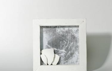 Poems in white№8 30х30 ассамбляж_1