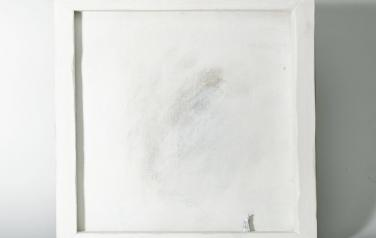 Poems in white№9 50х50 ассамбляж_1