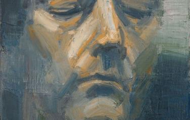 Портрет неизвестного. 50х50, х.м., 2010_1