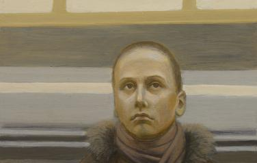 Портрет неизвестной 1. 2011. Дерево, масло, 30х40_1