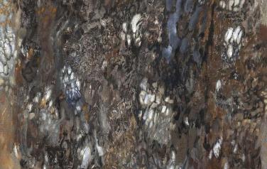 Серые цветы. 150х100. 2012 год. Холст, масло.