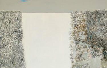 Зимняя поляна. Холст, масло, 120х120 см., 2010 г.