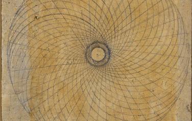 Вращательное движение геометрических фигур №3. Квадриптих. 112х96 каждая. 2004