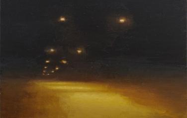Ночной свет. 2011 х.м. 105х105